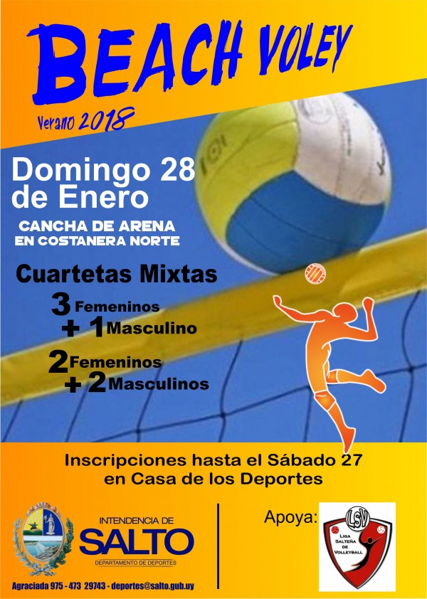 BEACH VOLEY- Verano 2018
